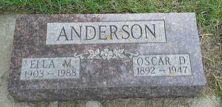 ANDERSON, ELLA M - Grant County, South Dakota | ELLA M ANDERSON - South Dakota Gravestone Photos