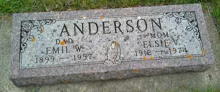 ANDERSON, ELSIE V - Grant County, South Dakota | ELSIE V ANDERSON - South Dakota Gravestone Photos