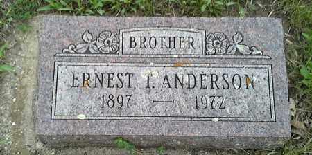 ANDERSON, ERNEST T - Grant County, South Dakota | ERNEST T ANDERSON - South Dakota Gravestone Photos