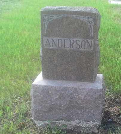 ANDERSON, FAMILY STONE - Grant County, South Dakota   FAMILY STONE ANDERSON - South Dakota Gravestone Photos