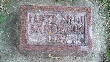 ANDERSON, FLOYD ARLO - Grant County, South Dakota | FLOYD ARLO ANDERSON - South Dakota Gravestone Photos