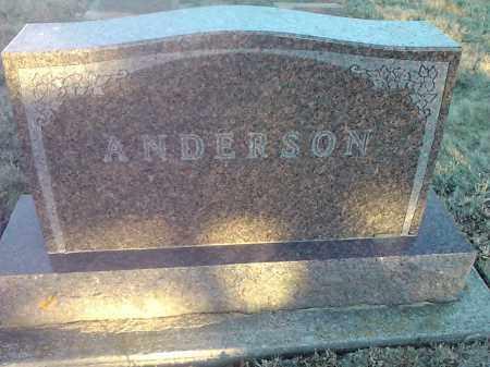 ANDERSON, HEAD STONE - Grant County, South Dakota | HEAD STONE ANDERSON - South Dakota Gravestone Photos