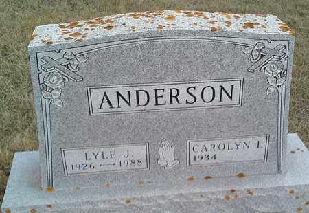 ANDERSON, LYLE J - Grant County, South Dakota | LYLE J ANDERSON - South Dakota Gravestone Photos