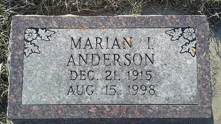 ANDERSON, MARIAN I - Grant County, South Dakota | MARIAN I ANDERSON - South Dakota Gravestone Photos