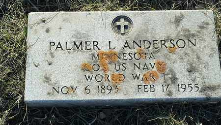 """ANDERSON, PALMER L """"MILITARY"""" - Grant County, South Dakota 