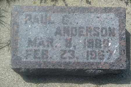 ANDERSON, PAUL G - Grant County, South Dakota | PAUL G ANDERSON - South Dakota Gravestone Photos