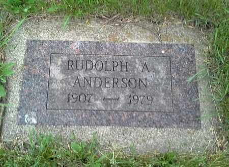 ANDERSON, RUDOLPH A - Grant County, South Dakota | RUDOLPH A ANDERSON - South Dakota Gravestone Photos