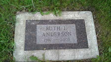 ANDERSON, RUTH I - Grant County, South Dakota   RUTH I ANDERSON - South Dakota Gravestone Photos