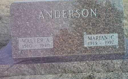 ANDERSON, MARIAN C. - Grant County, South Dakota | MARIAN C. ANDERSON - South Dakota Gravestone Photos
