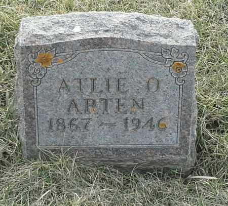 ARTEN, ATLIE O - Grant County, South Dakota | ATLIE O ARTEN - South Dakota Gravestone Photos
