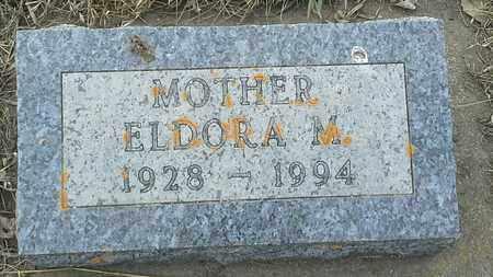 BAKKEN, ELDORA M - Grant County, South Dakota   ELDORA M BAKKEN - South Dakota Gravestone Photos