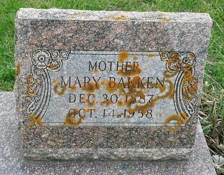 BAKKEN, MARY - Grant County, South Dakota | MARY BAKKEN - South Dakota Gravestone Photos