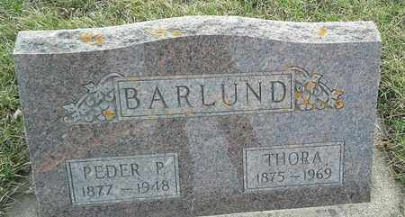 BARLUND, PEDER P - Grant County, South Dakota | PEDER P BARLUND - South Dakota Gravestone Photos