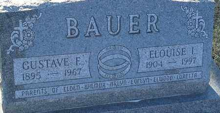 BAUER, GUSTAVE F - Grant County, South Dakota | GUSTAVE F BAUER - South Dakota Gravestone Photos