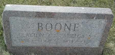 BOONE, HELGA S - Grant County, South Dakota   HELGA S BOONE - South Dakota Gravestone Photos