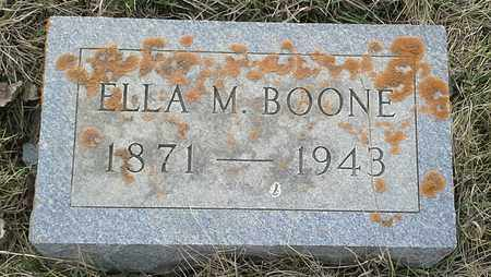 BOONE, ELLA M - Grant County, South Dakota | ELLA M BOONE - South Dakota Gravestone Photos
