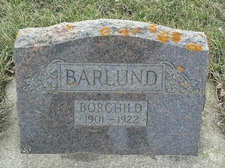BARLUND, BORGHILD - Grant County, South Dakota   BORGHILD BARLUND - South Dakota Gravestone Photos