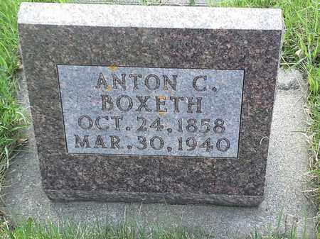 BOXETH, ANTON C - Grant County, South Dakota | ANTON C BOXETH - South Dakota Gravestone Photos