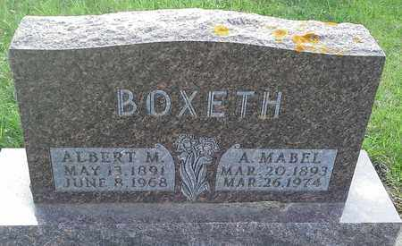 BOXETH, ALBERT M - Grant County, South Dakota   ALBERT M BOXETH - South Dakota Gravestone Photos