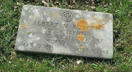 """BOXETH, ALBERT M """" MILITARY"""" - Grant County, South Dakota   ALBERT M """" MILITARY"""" BOXETH - South Dakota Gravestone Photos"""