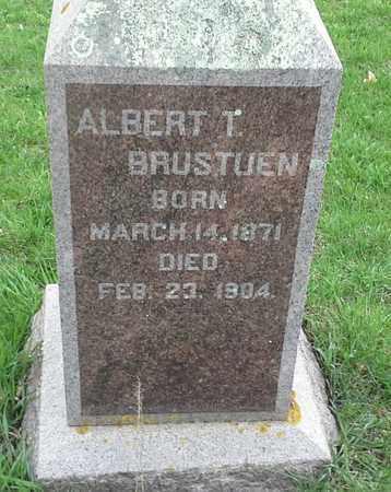 BRUSTUEN, ALBERT T - Grant County, South Dakota | ALBERT T BRUSTUEN - South Dakota Gravestone Photos