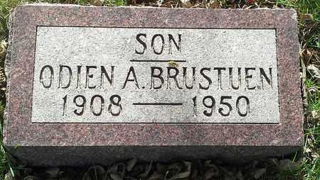BRUSTUEN, ODIEN A - Grant County, South Dakota | ODIEN A BRUSTUEN - South Dakota Gravestone Photos