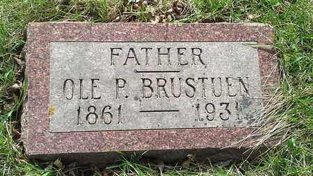 BRUSTUEN, OLE P - Grant County, South Dakota | OLE P BRUSTUEN - South Dakota Gravestone Photos