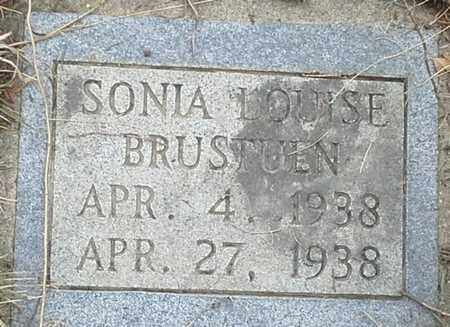 BRUSTUEN, SONIA LOUISE - Grant County, South Dakota | SONIA LOUISE BRUSTUEN - South Dakota Gravestone Photos