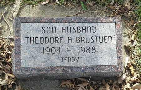 BRUSTUEN, THEORDORE A - Grant County, South Dakota   THEORDORE A BRUSTUEN - South Dakota Gravestone Photos