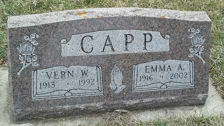 CAPP, VERN W - Grant County, South Dakota | VERN W CAPP - South Dakota Gravestone Photos