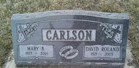 CARLSON, MARY B - Grant County, South Dakota | MARY B CARLSON - South Dakota Gravestone Photos
