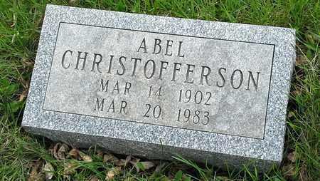 CHRISTOFFERSON, ABEL - Grant County, South Dakota | ABEL CHRISTOFFERSON - South Dakota Gravestone Photos