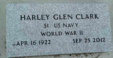 CLARK, HARLEY GLEN - Grant County, South Dakota | HARLEY GLEN CLARK - South Dakota Gravestone Photos