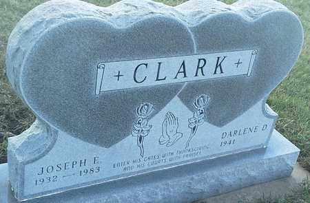 CLARK, JOSEPH E - Grant County, South Dakota   JOSEPH E CLARK - South Dakota Gravestone Photos