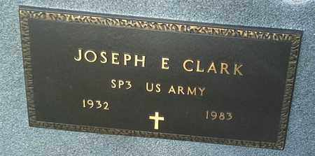 "CLARK, JOSEPH E ""MILITARY"" - Grant County, South Dakota   JOSEPH E ""MILITARY"" CLARK - South Dakota Gravestone Photos"