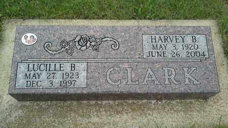 CLARK, LUCILLE B - Grant County, South Dakota | LUCILLE B CLARK - South Dakota Gravestone Photos