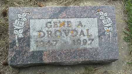 DROVDAL, GENE A - Grant County, South Dakota | GENE A DROVDAL - South Dakota Gravestone Photos
