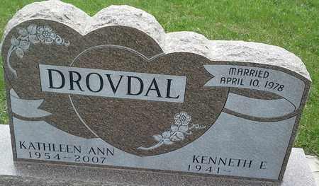 DROVDAL, KATHLEEN ANN - Grant County, South Dakota | KATHLEEN ANN DROVDAL - South Dakota Gravestone Photos