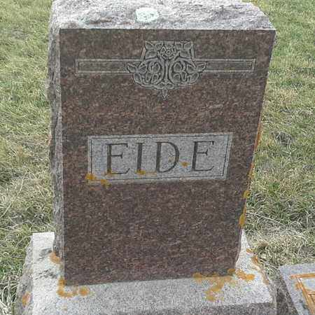 EIDE, FAMILY STONE - Grant County, South Dakota | FAMILY STONE EIDE - South Dakota Gravestone Photos