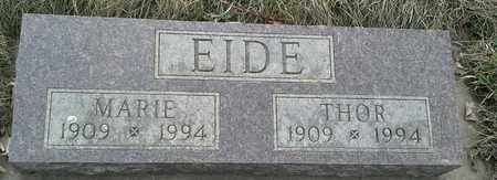 EIDE, THOR - Grant County, South Dakota   THOR EIDE - South Dakota Gravestone Photos