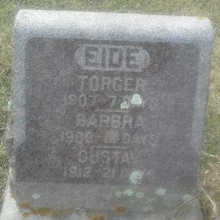 EIDE, GUSTAV - Grant County, South Dakota | GUSTAV EIDE - South Dakota Gravestone Photos