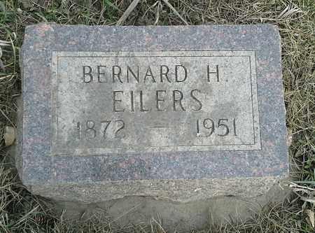 EILERS, BERNARD H - Grant County, South Dakota   BERNARD H EILERS - South Dakota Gravestone Photos