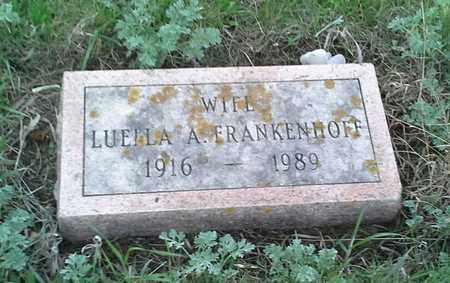 FRANKENHOFF, LUELLA A - Grant County, South Dakota | LUELLA A FRANKENHOFF - South Dakota Gravestone Photos