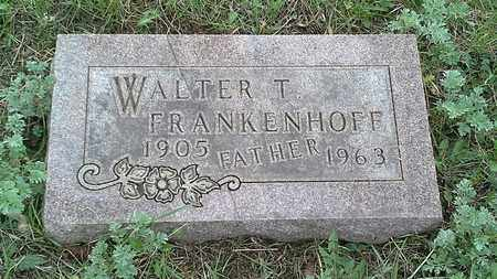 FRANKENHOFF, WALTER T - Grant County, South Dakota | WALTER T FRANKENHOFF - South Dakota Gravestone Photos
