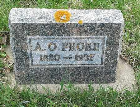 FROKE, A O - Grant County, South Dakota | A O FROKE - South Dakota Gravestone Photos