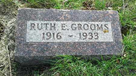 GROOMS, RUTH E - Grant County, South Dakota | RUTH E GROOMS - South Dakota Gravestone Photos