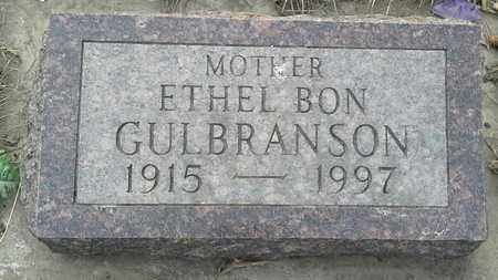 GULBRANSON, ETHEL BON - Grant County, South Dakota | ETHEL BON GULBRANSON - South Dakota Gravestone Photos