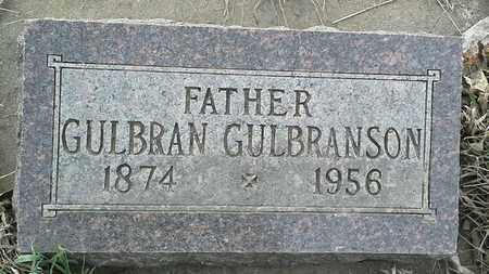 GULBRANSON, GULBRAN - Grant County, South Dakota | GULBRAN GULBRANSON - South Dakota Gravestone Photos