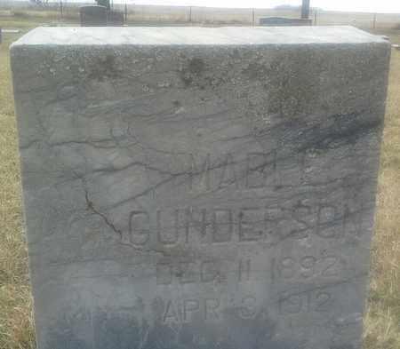 GUNDERSON, MABLE - Grant County, South Dakota | MABLE GUNDERSON - South Dakota Gravestone Photos