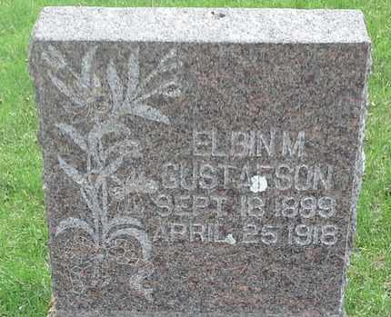 GUSTAFSON, ELBIN M - Grant County, South Dakota   ELBIN M GUSTAFSON - South Dakota Gravestone Photos